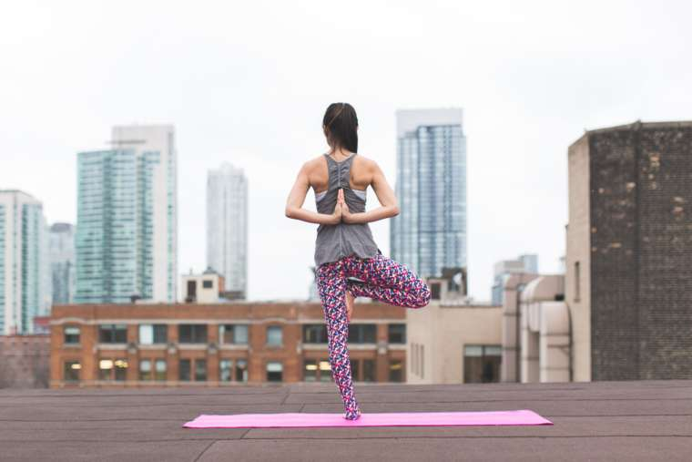 3 Balancing Poses for Winter