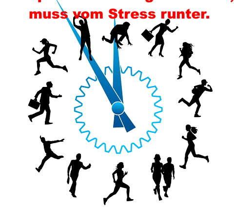 Wer proaktiver und agiler sein will, muss vom Stress runter